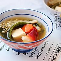 北极贝味噌汤