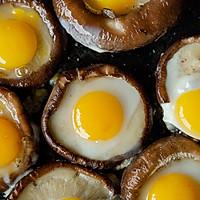 #快手又营养,我家的冬日必备菜品# 一口一个超鲜美的香菇酿蛋的做法图解4