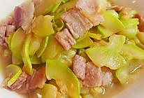 西葫芦炒肉片  #爱上西葫芦#的做法