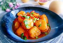 #营养小食光#连汤都吃掉的《糖醋玉子豆腐》的做法