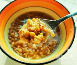 #我们约饭吧#夏日清凉绿豆汤(电饭煲版)的做法