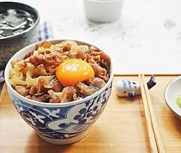 想吃日式牛肉饭,去吉野家不如回自己家!的做法