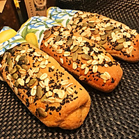 全麦汤种杂粮面包