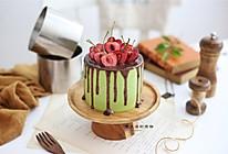 黑米抹茶慕斯蛋糕的做法