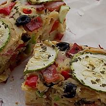 法式蔬菜咸蛋糕