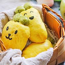 #520,美食撩动TA的心!#胡萝卜馒头