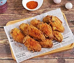 #肉食者联盟#蒜香炸鸡翅的做法