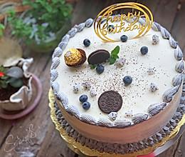 芒果十寸生日蛋糕的做法