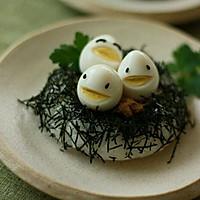 鸡蛋小人 鸡蛋的创意吃法