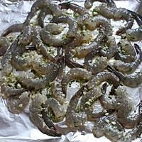 超快手蒜蓉烤虾的做法图解4