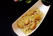 黄豆芽炒油豆腐的做法