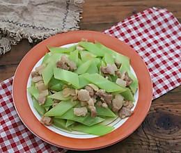 莴笋炒肉片的做法