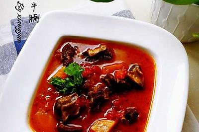 红酒番茄炖牛腩