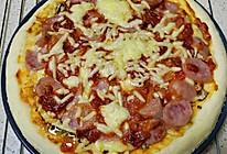 香肠披萨(自制披萨酱)的做法