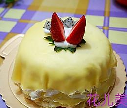 草莓千层可丽饼的做法