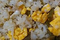 酸豆角蛋炒饭的做法