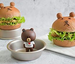 荞麦小熊汉堡的做法