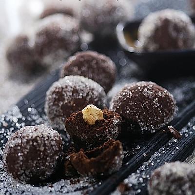榛子巧克力球