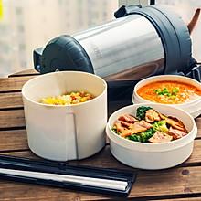 西兰花炒培根&西红柿疙瘩汤|二叔食集