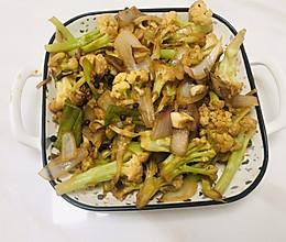 素炒菜花的做法