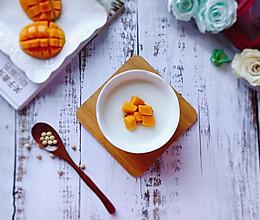 芒果双皮奶#甜品#的做法