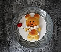 小熊餐包#安佳烘焙学院#的做法