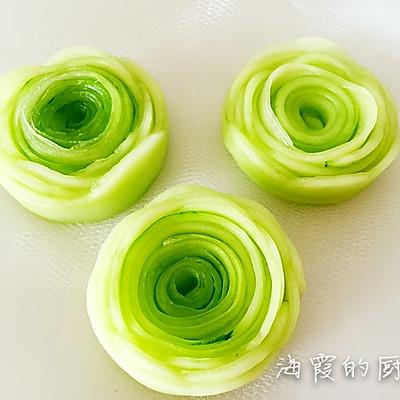 清凉夏日绿玫瑰