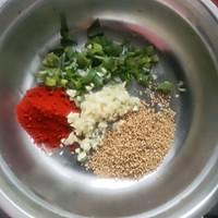 红油藕片的做法图解3