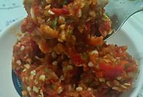 超简单蒜苔辣椒酱(翠绿辣椒酱)的做法