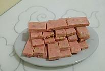 草莓味的牛轧糖的做法