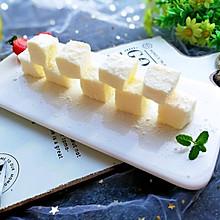 消化奶油的好方法:椰丝牛奶小方