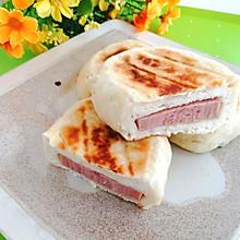 #中秋团圆食味#东北-火腿发面饼