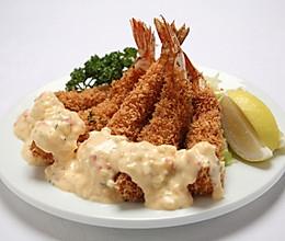 日式炸大虾的做法