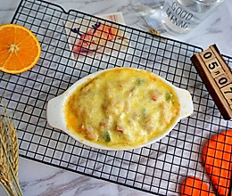 简单料理-芝士焗饭的做法