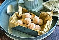 燕麦红薯椰蓉球的做法