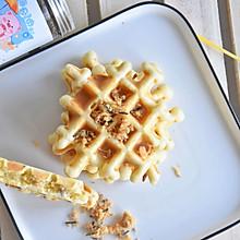 #全电厨王料理挑战赛热力开战!#芝麻海苔肉松松饼
