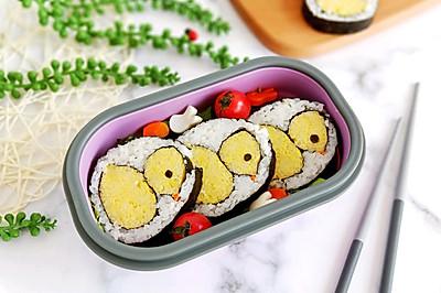 小鸡寿司便当