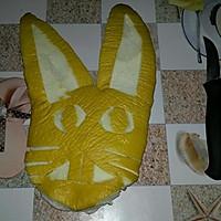 柚子兔子的做法图解1