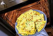 脆皮芝士火腿鸡蛋饼的做法