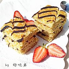 千叶纹蛋糕#豆果5周年#