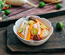 #硬核菜谱制作人#话梅一夜渍萝卜 详细配方的做法