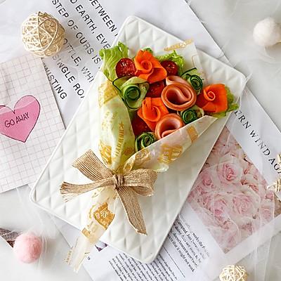 美美哒花束沙拉