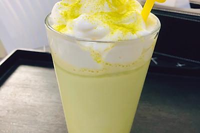自制:海盐奶盖-抹茶星冰乐