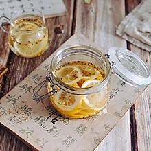 """柠檬桂花蜜#蓝陌小""""鲜""""杯:会制冷的榨汁杯#"""