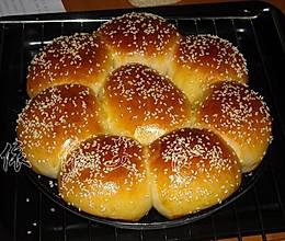 冷藏发酵——花形面包的做法