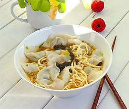 荠菜虾仁馄饨的做法