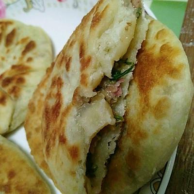 香菇瘦肉白菜饼