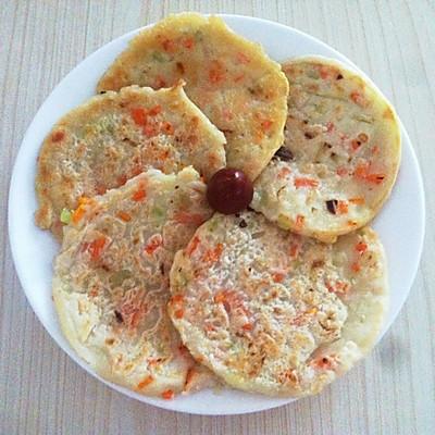 胡萝卜软饼~简单美味的早餐
