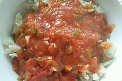 西红柿酱拌洋芋叉叉