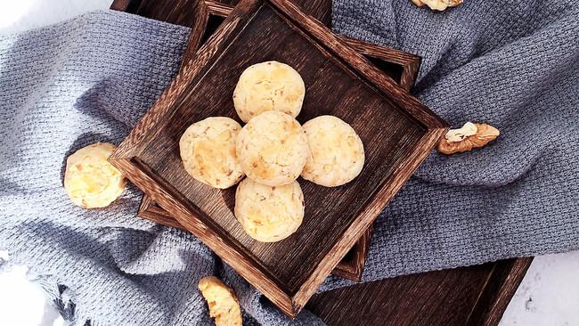 简单快手入口酥脆的核桃一口酥的做法